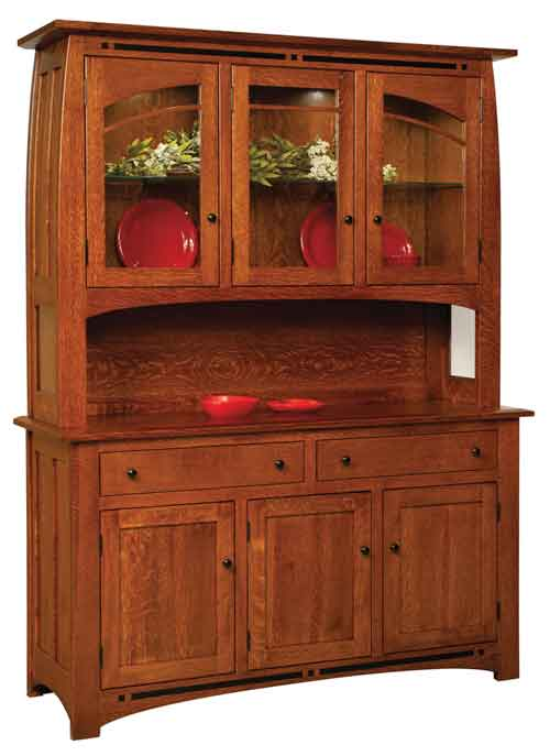 Amish Boulder Creek China Cabinet